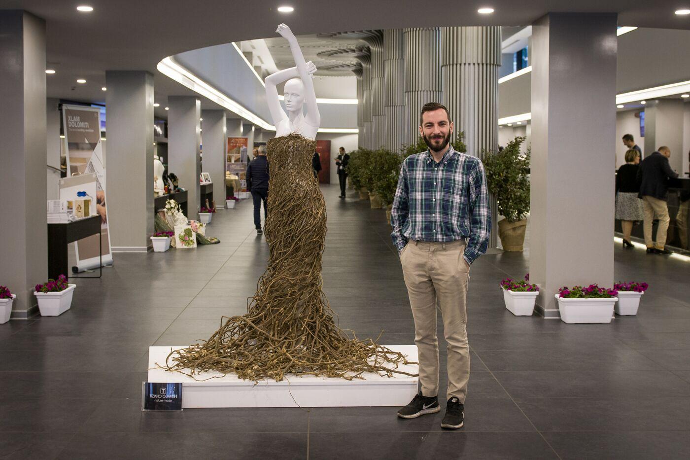 Green Fashion. Tiziano Guardini per Road to green 2020