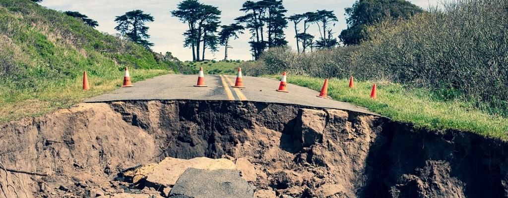 Cedimento del suolo: la subsidenza interesserà il 19% della popolazione
